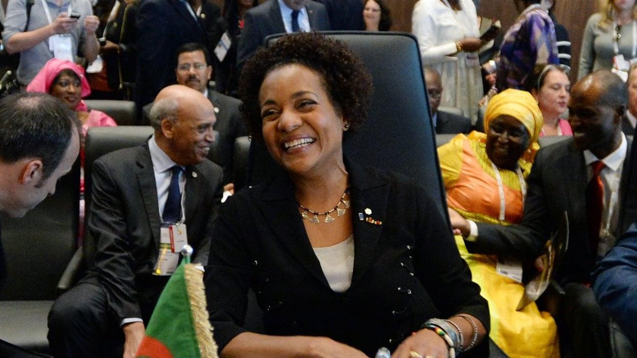 Michaëlle Jean , nouvelle secrétaire générale de l'Organisation internationale de la francophonie