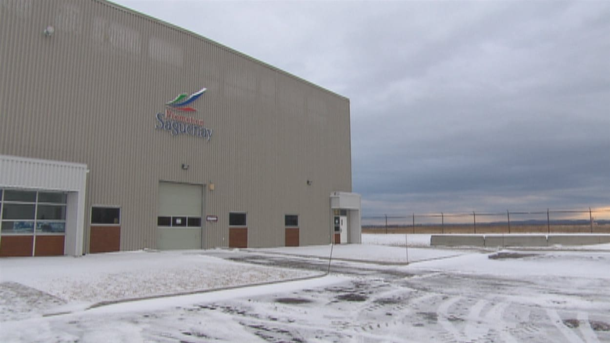 Le hangar qui sera occupé par Discovery Air Defence