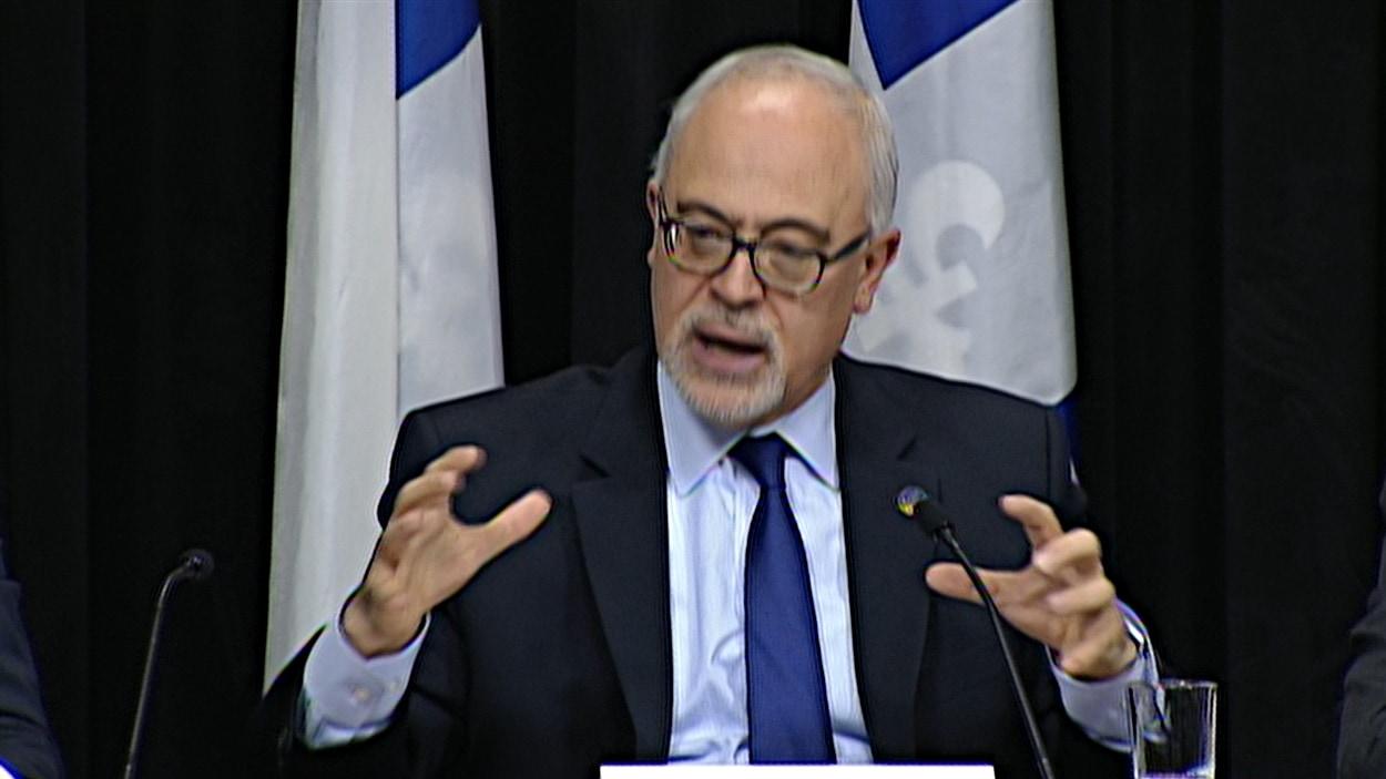 Le ministre des Finances, Carlos Leitao