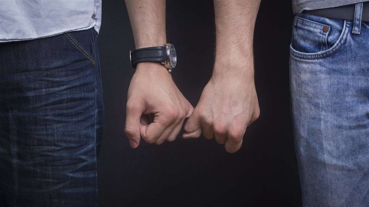 Un couple homosexuel