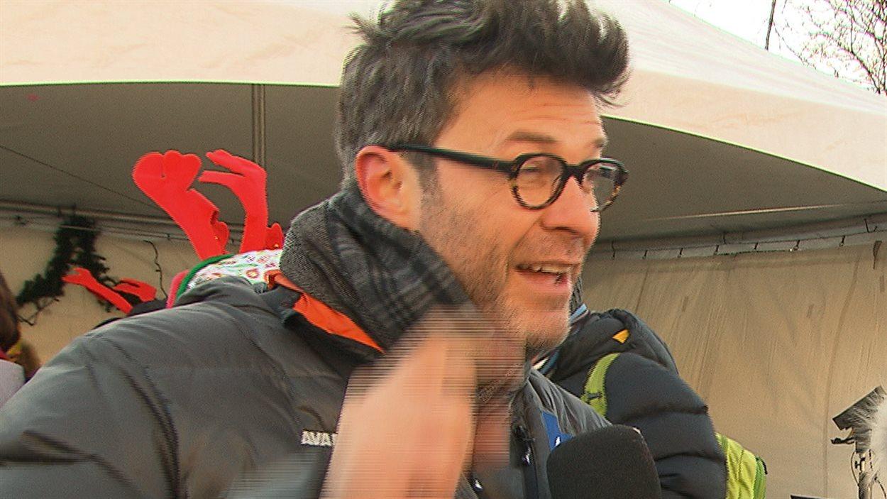 Le comédien et chanteur Stéphane Archambault