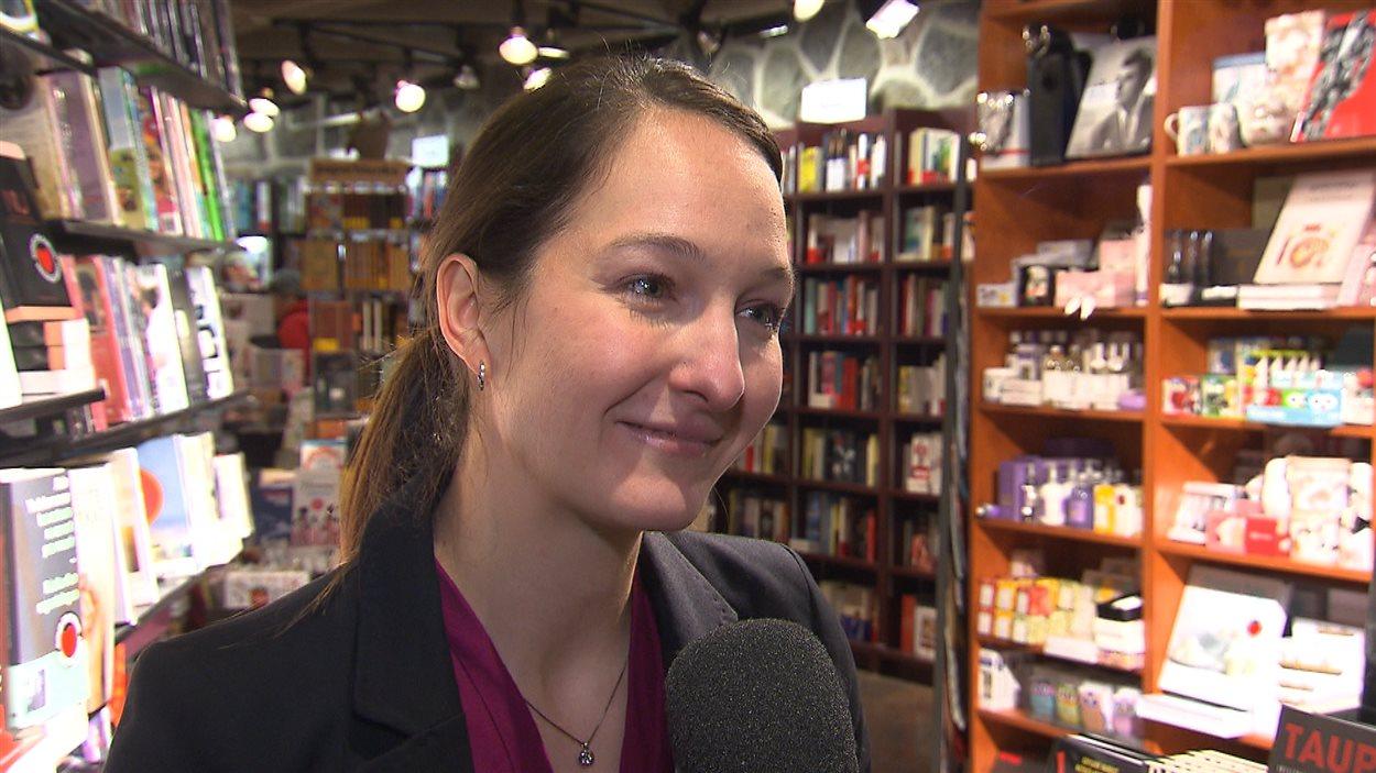 Mariève Talbot, nouvelle directrice et propriétaire de La courte échelle