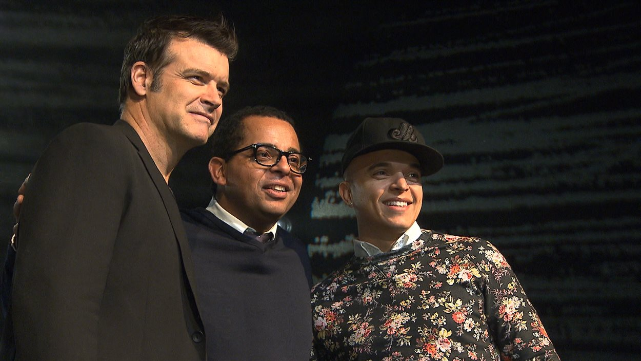 Roch Voisine, Gregory Charles et Rachid Badouri