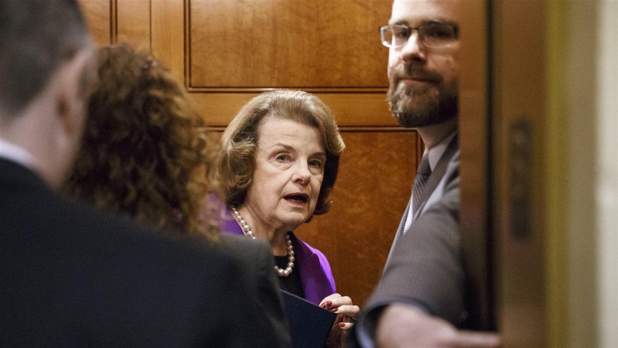 La démocrate Dianne Feinstein est la présidente de la commission du Renseignement du Sénat américain.