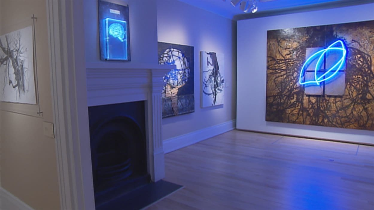 L'exposition est présentée à la Maison Hamel-Bruneau