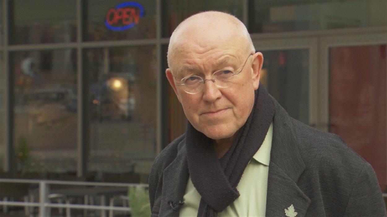Michel de Spot, PDG d'EcoSmart, est un des instigateurs du projet de centrale solaire à Kimberley dans le Kootenay.
