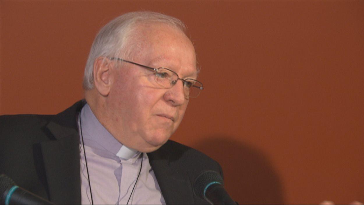 Mgr André Rivest, évêque du diocèse de Chicoutimi