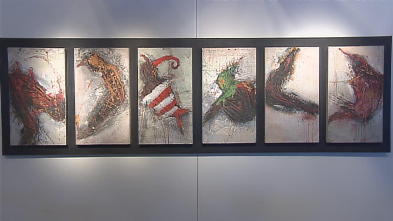 Cette exposition présente une rétrospective (1972-2014) de l'artiste Bill Vincent