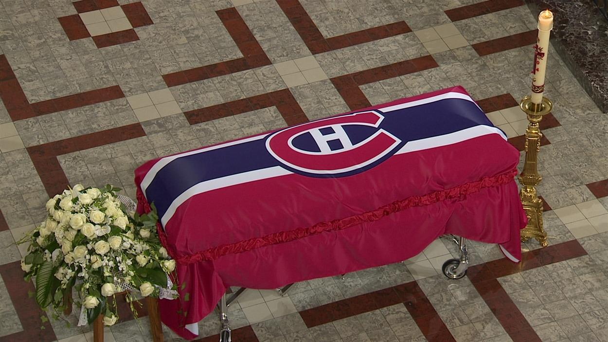Les funérailles de Jean Béliveau