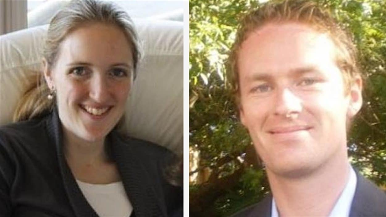 Katrina Dawson et Tori Johnson sont les deux victimes de la prise d'otages.
