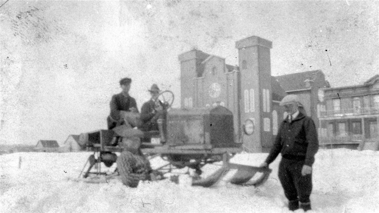 La motoneige de J.D. Bureau, 1926