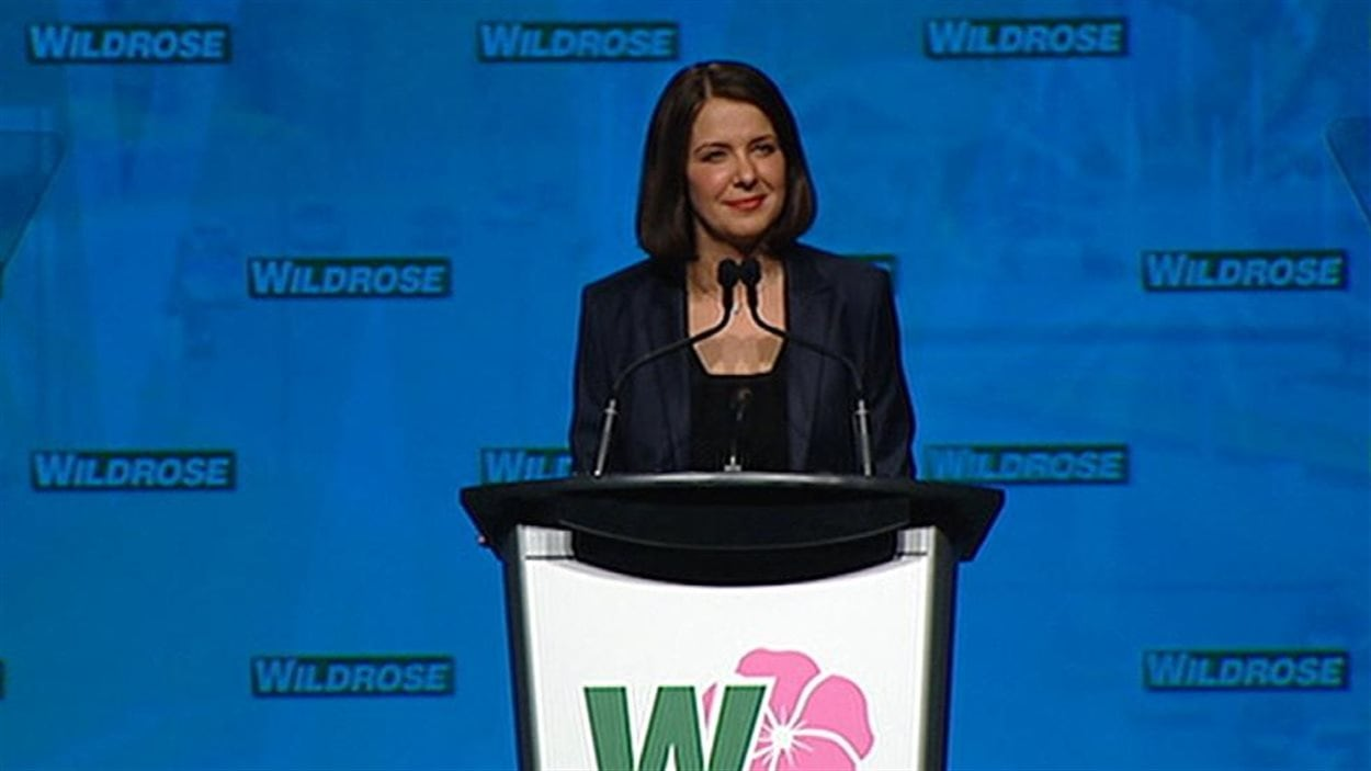 L'ancienne chef du Wildrose, Danielle Smith (archives)