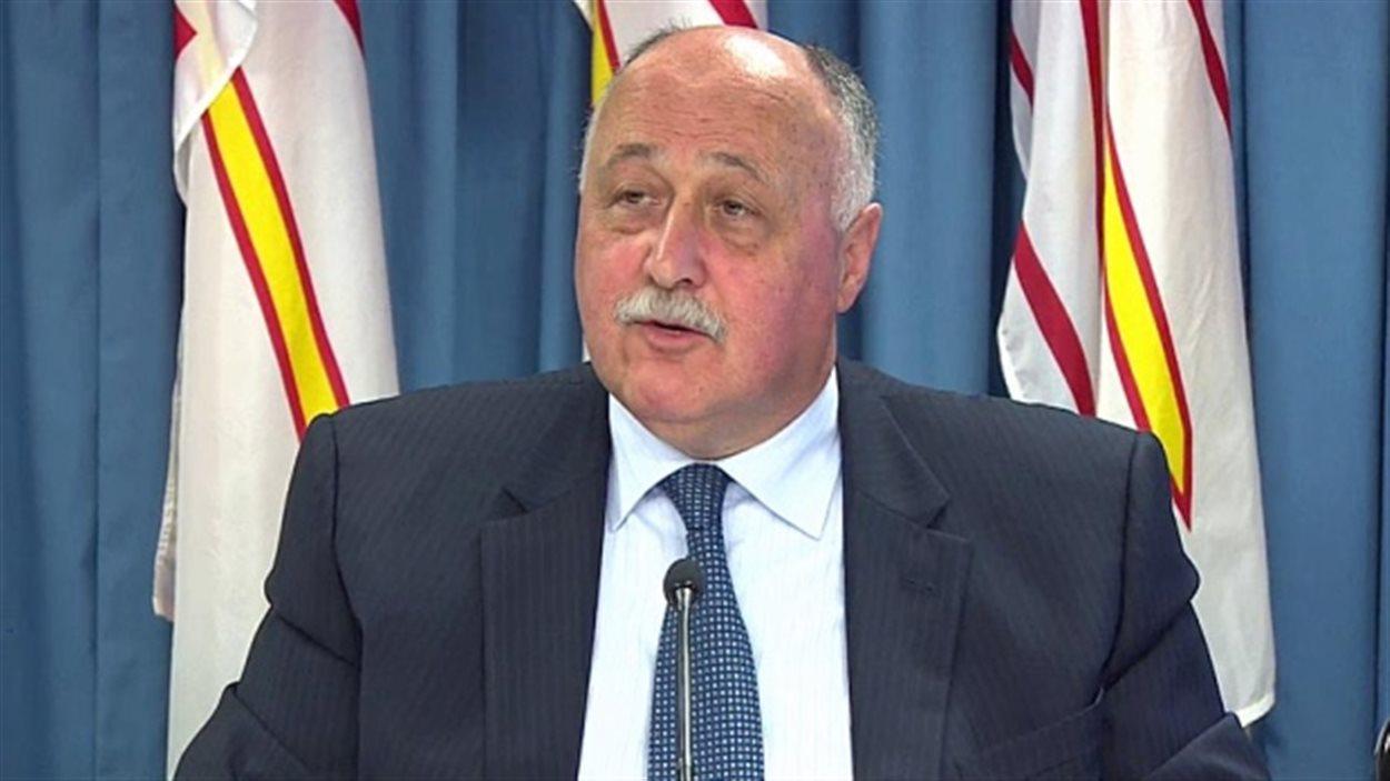 Le ministre des Finances de Terre-Neuve-et-Labrador, Ross Wiseman.