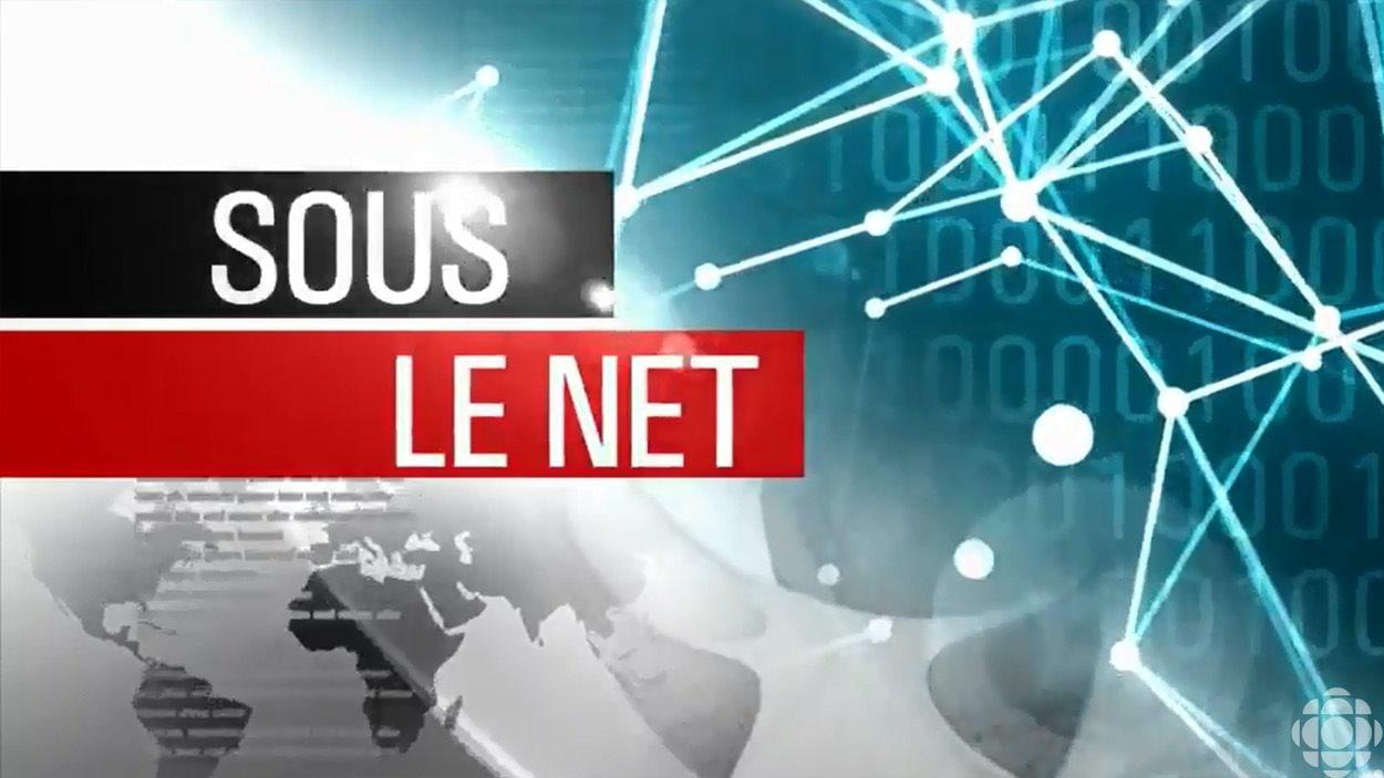 La chronique « Sous le net » de Matthieu Dugal au <em>Téléjournal</em>