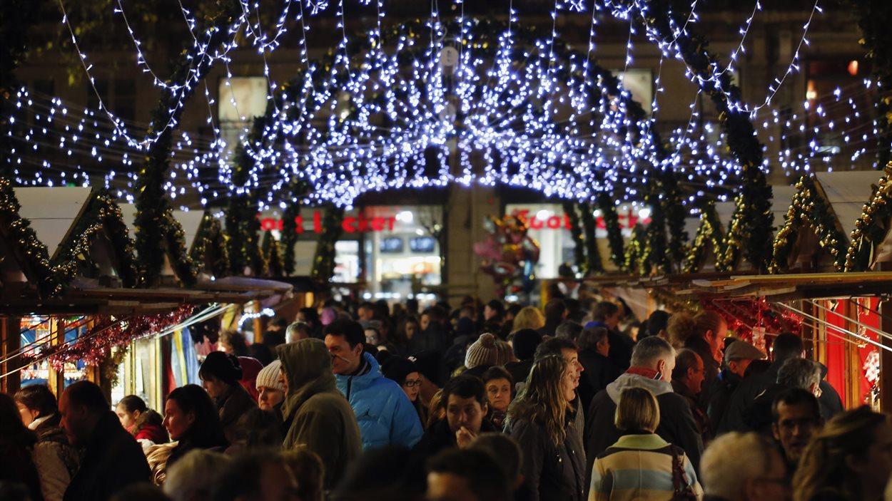 Le marché de Noël de Nantes.