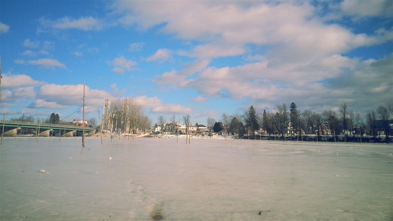 Sainte-Anne-de-la-Pérade sans son village de pêche aux poulamons.