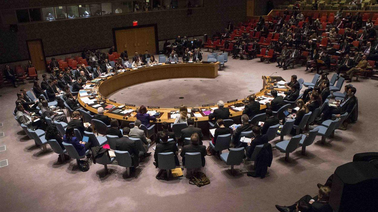 Le Conseil de sécurité en réunion (archives)