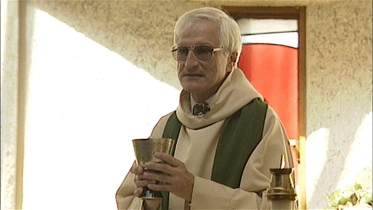 Le père Ronald Léger a été prêtre à la paroisse Sainte-Famille du quartier Saint-Boniface à Winnipeg.