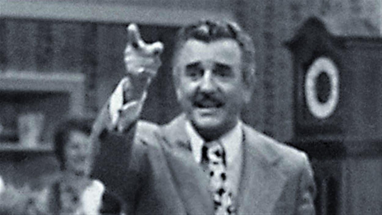 Louis Bilodeau, animateur de La soirée canadienne