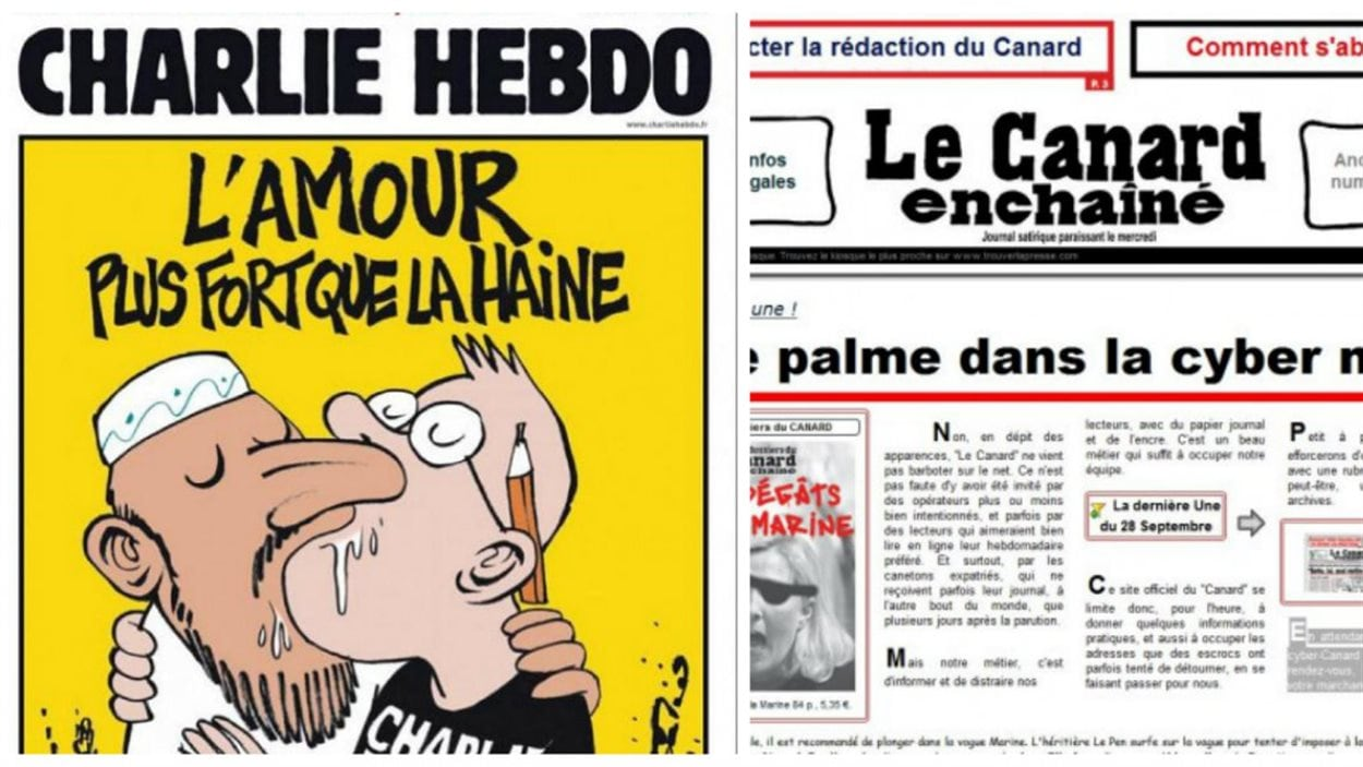 Des journaux de la presse française
