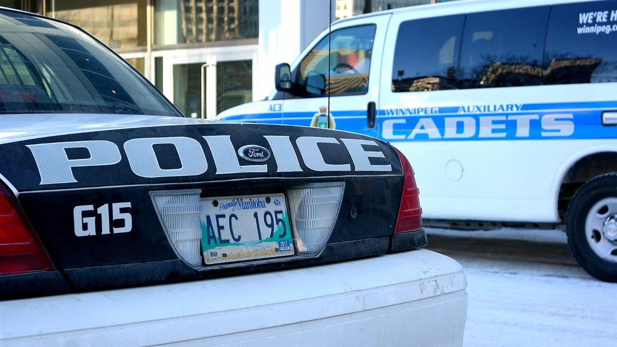 autopatrouille de la police de Winnipeg.