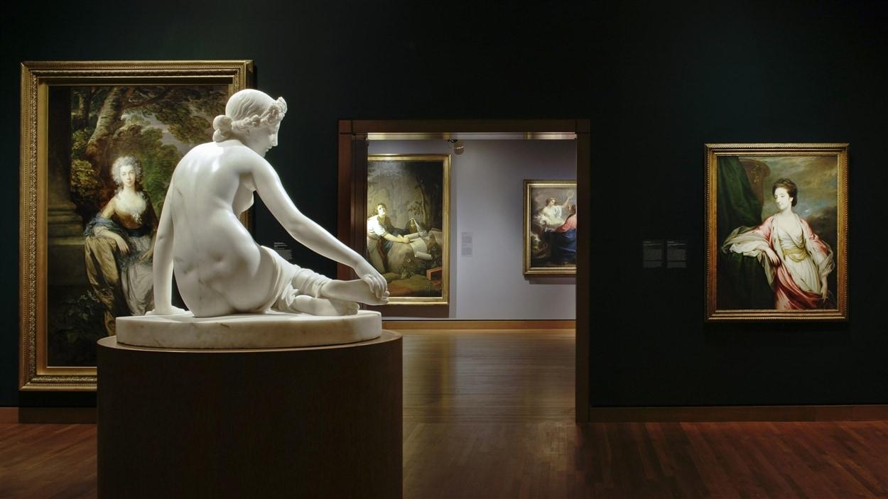 Galerie des maîtres anciens au Musée des beaux-arts de Montréal