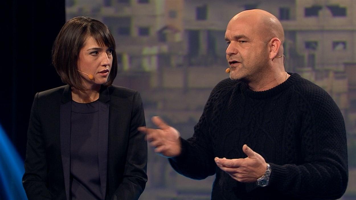Marie-Ève Bédard et Sylvain Castonguay.