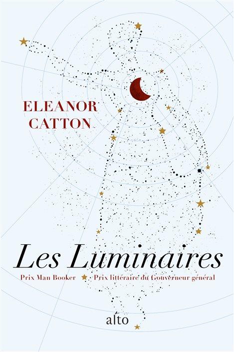 La couverture des «Luminaires» d'Eleanor Catton
