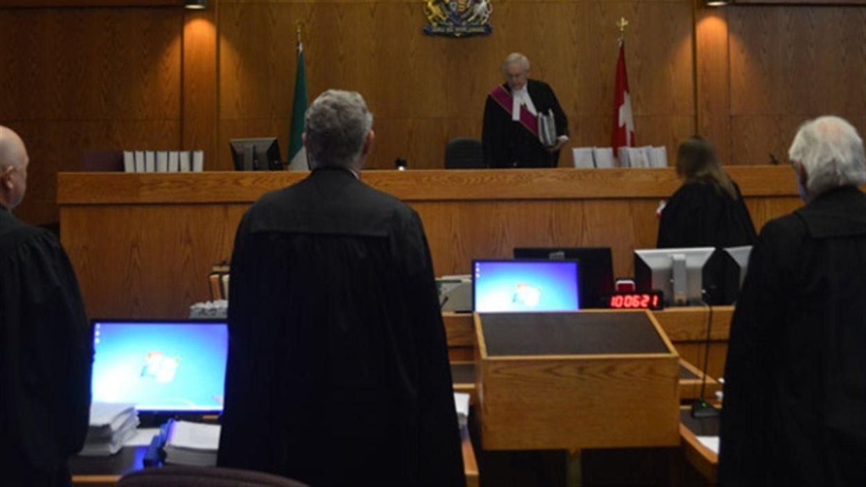 Un tribunal au Yukon.