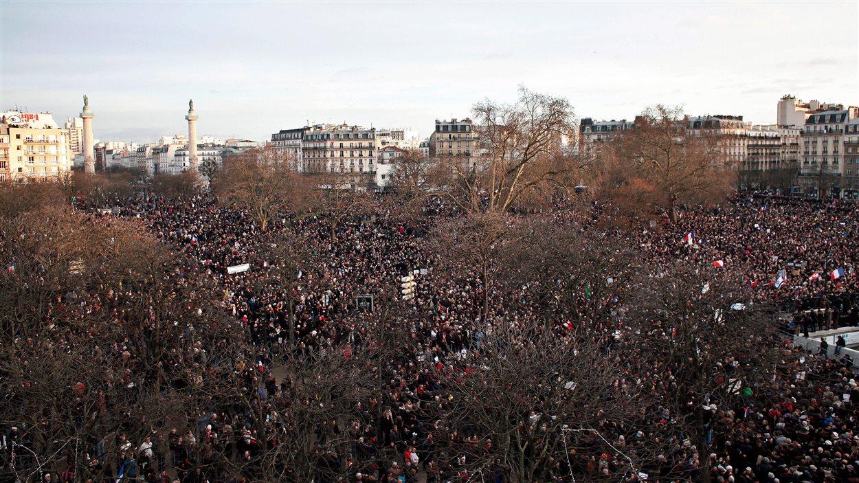Plus d'un million de personnes mobilisées à Paris.