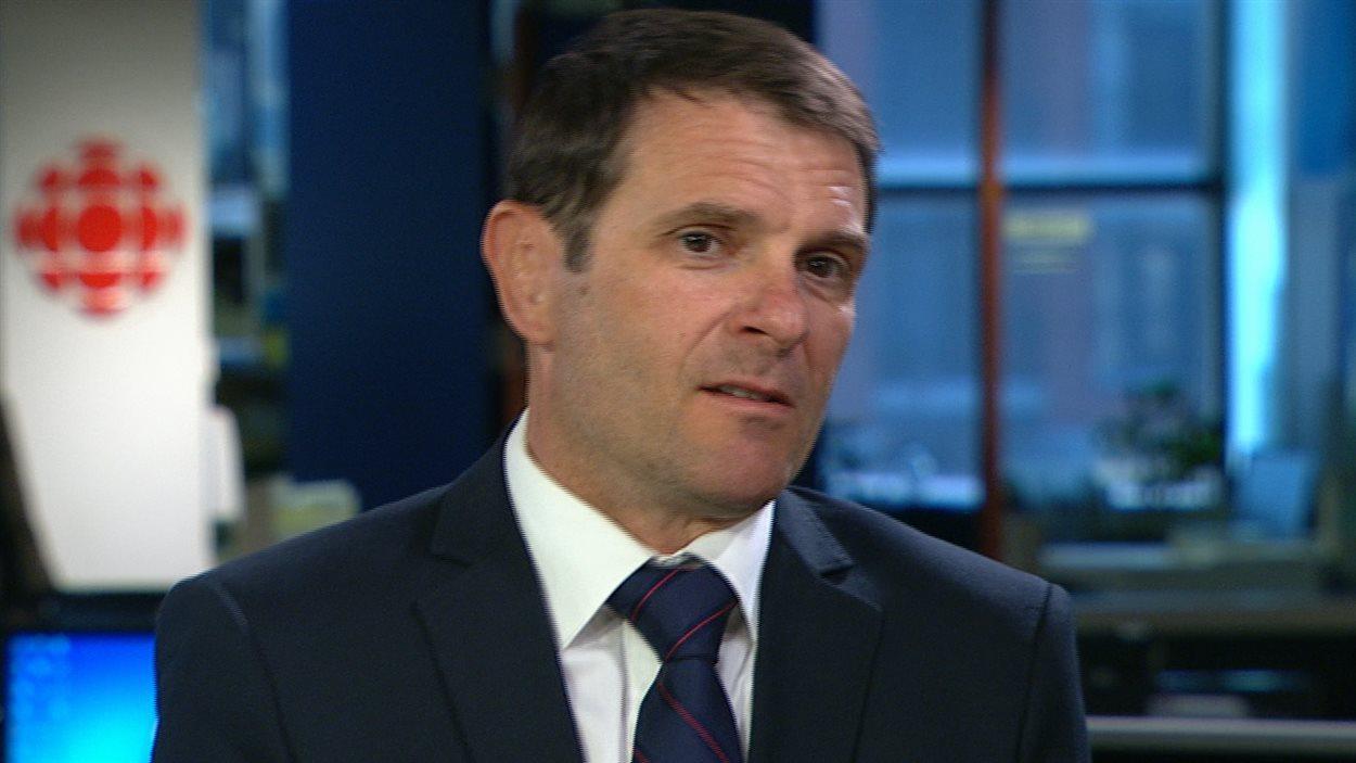 François Bonnardel, député de Granby pour la Coalition avenir Québec (CAQ) et critique en matière de finances