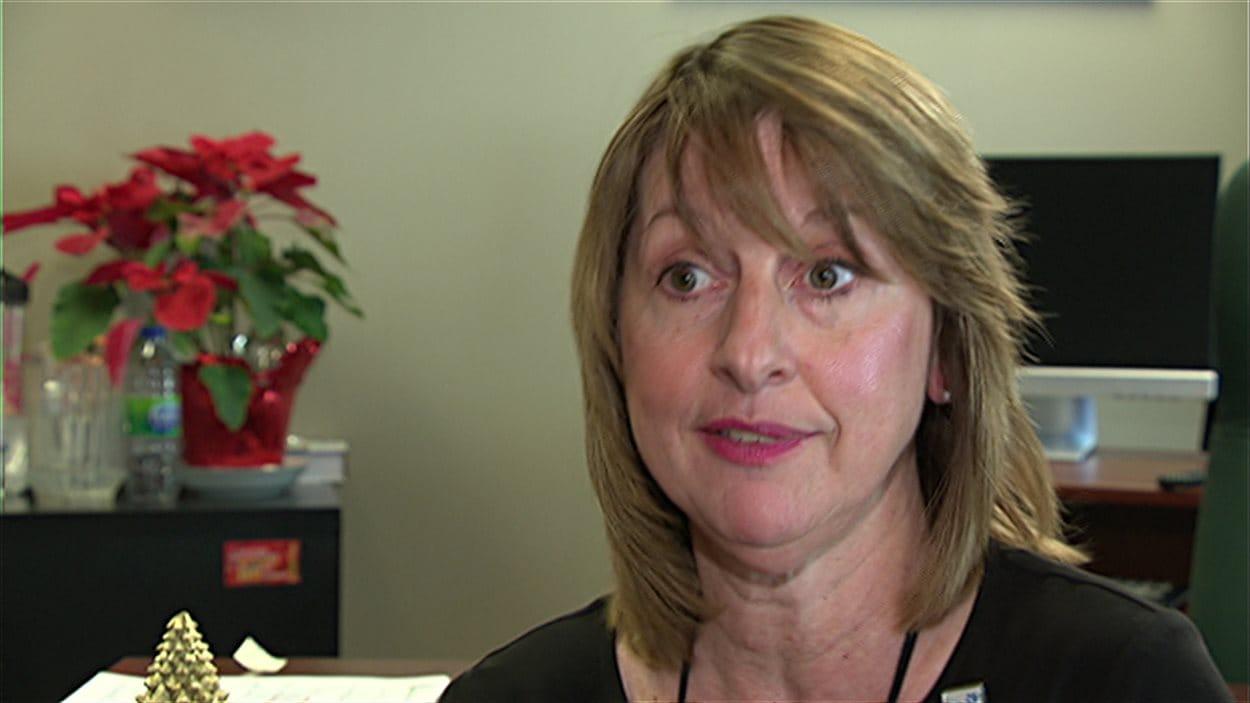 La mairesse de Cantley, Madeleine Brunette.