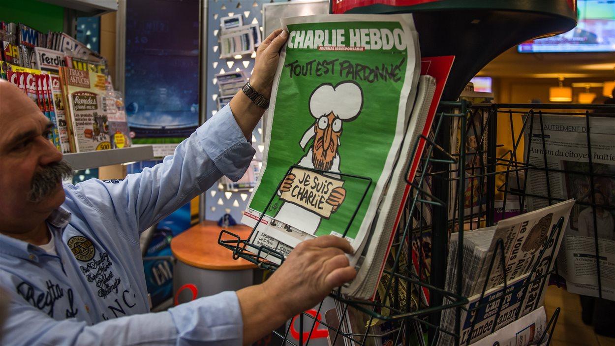 Comme d'habitude, Charlie Hebdo est arrivé en kiosque mercredi matin en France.