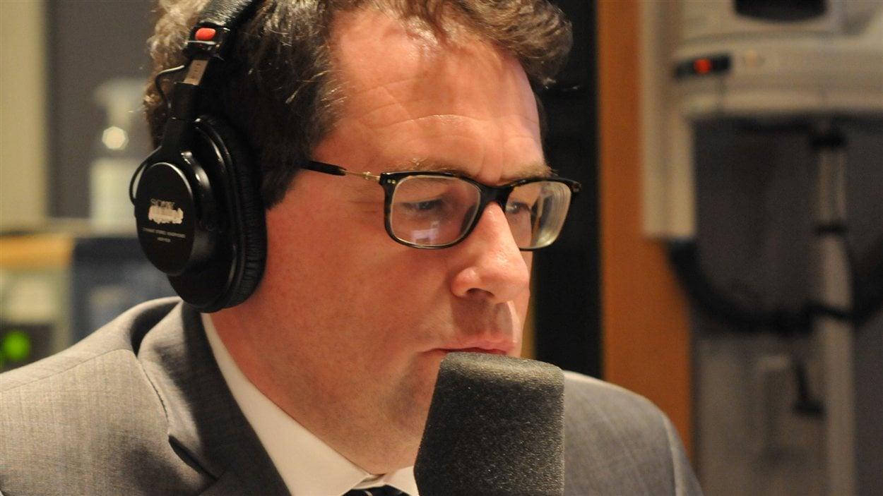 Bernard Drainville, député péquiste dans Marie-Victorin