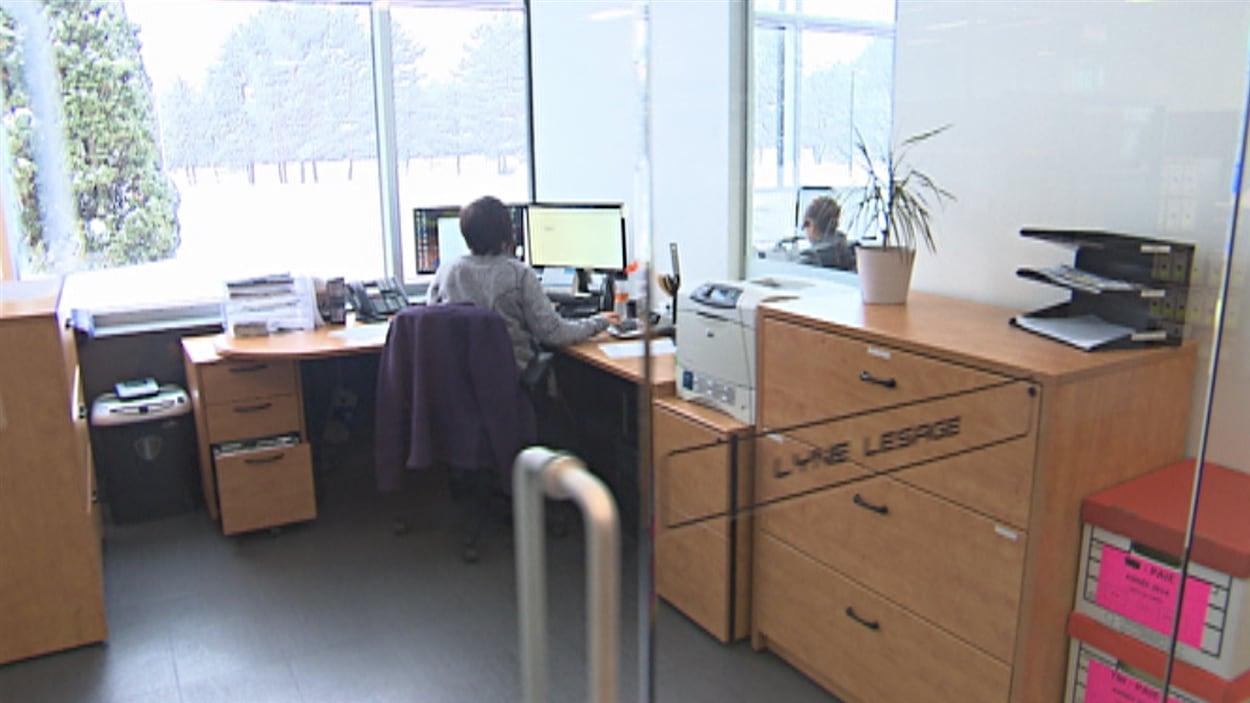Un bureau du Groupe Bellemare