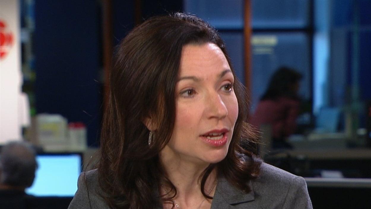 Martine Ouellet en entrevue à RDI