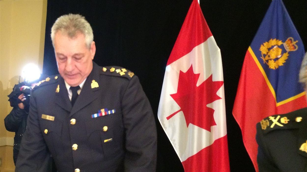 Roger Brown est le commandant divisionnaire de la GRC au Nouveau-Brunswick.