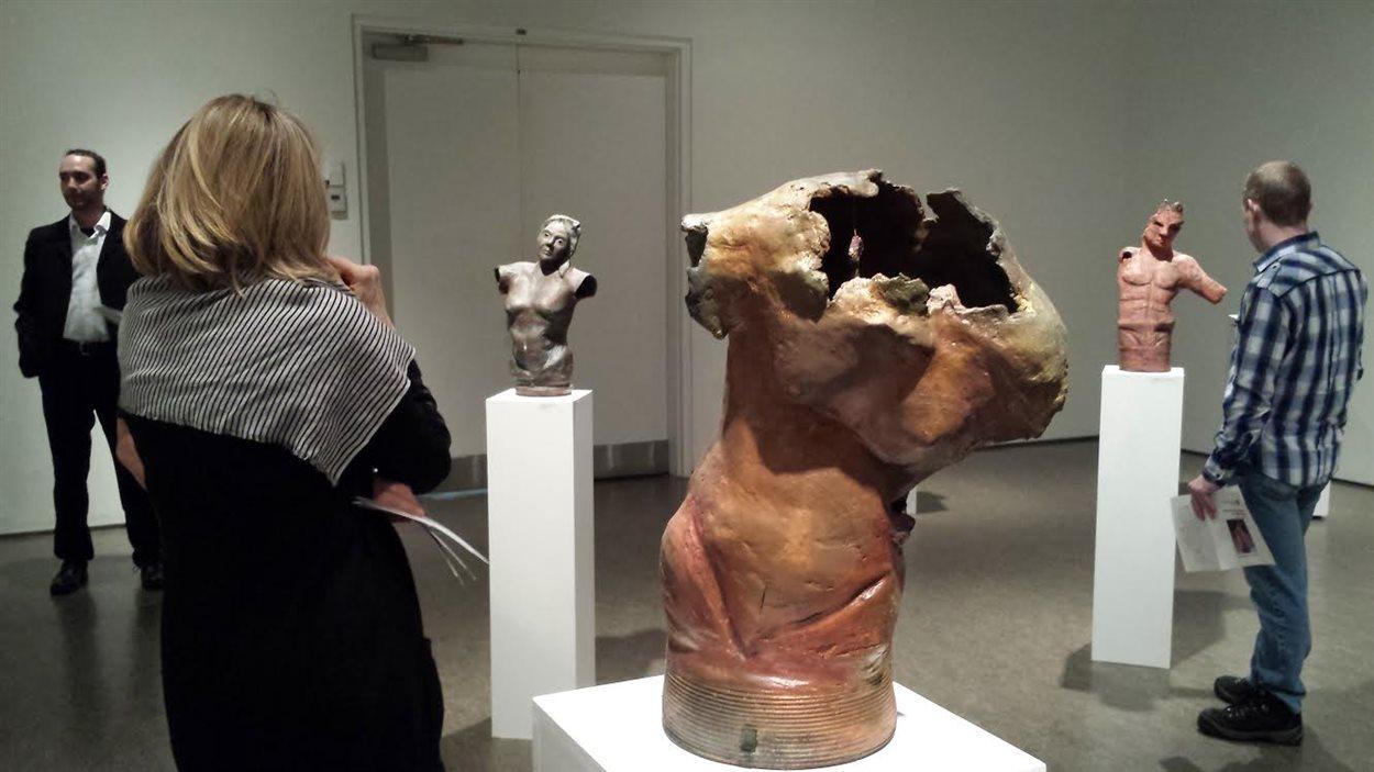 Exposition des oeuvres de Diane Lemieux