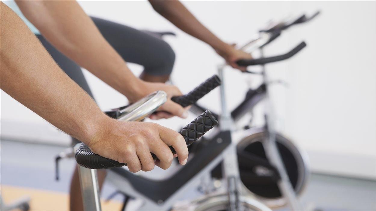 Du vélo stationnaire