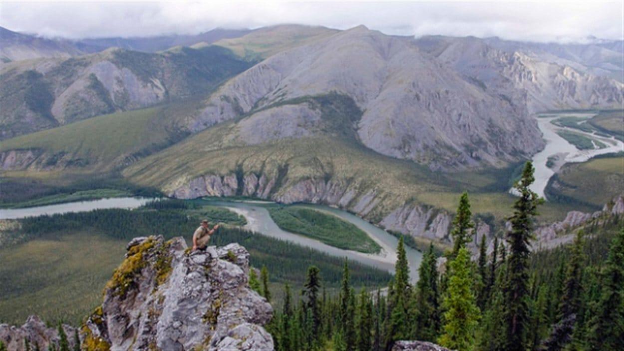 Un secteur du bassin de la Peel au Yukon