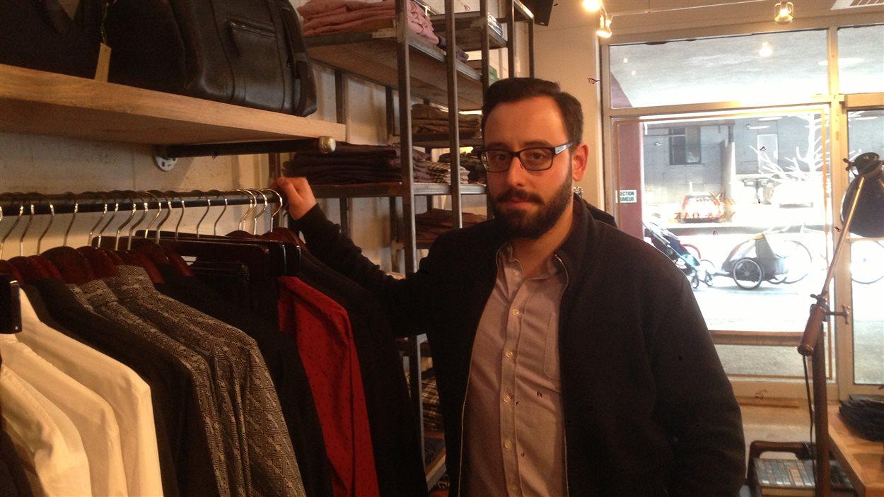 Hicham Ratnani, cofondateur de la boutique Frank & Oak