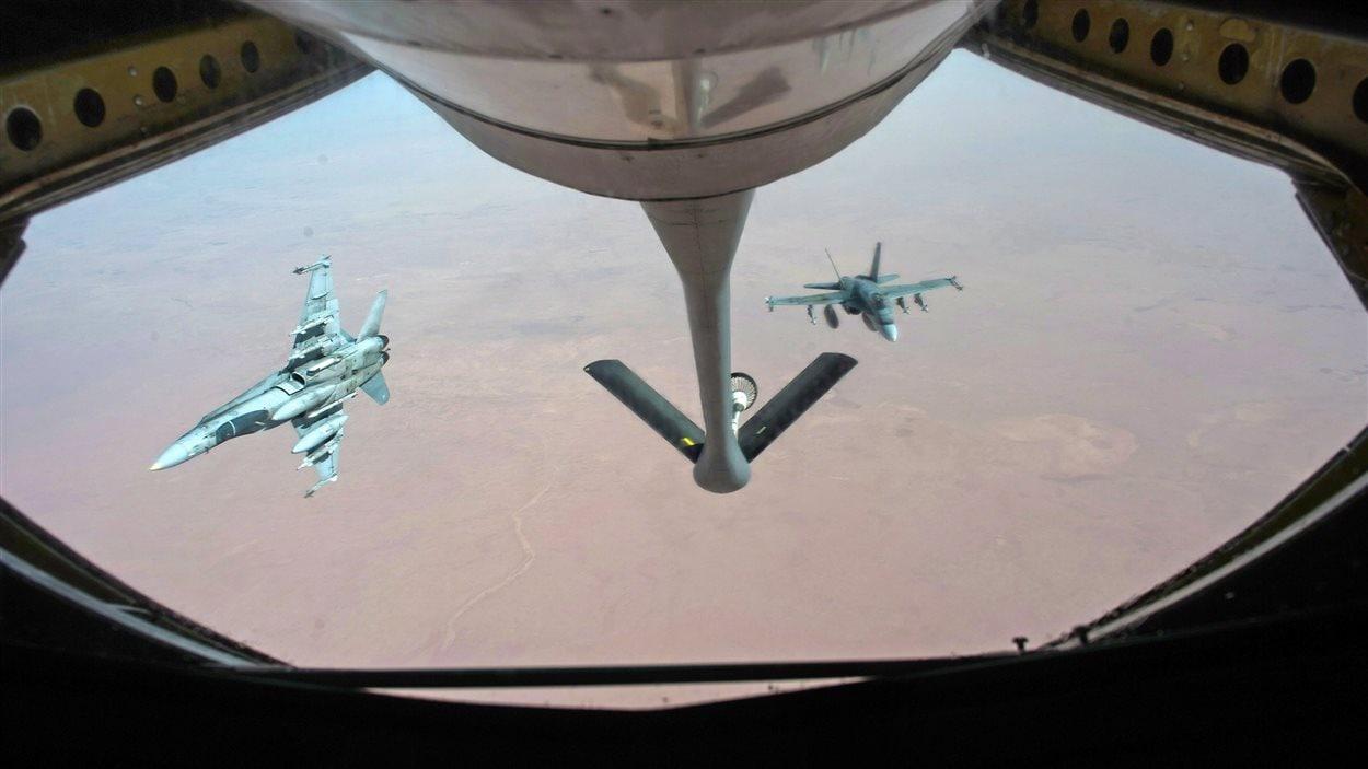 CF-18 canadiens en Irak