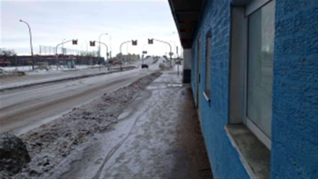 Le meurtre a eu lieu dans ce secteur de Winnipeg.