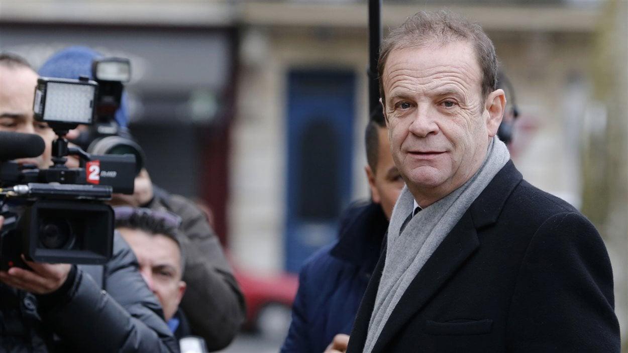 L'un des accusés dans l'«affaire Bettencourt», le photographe François-Marie Banier