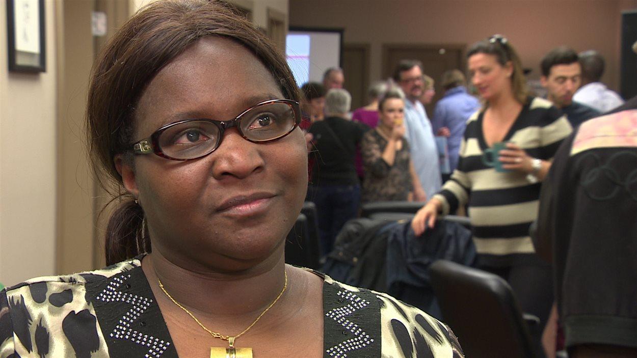 Fatoimata Diallo, résidente du Manitoba depuis 2 ans