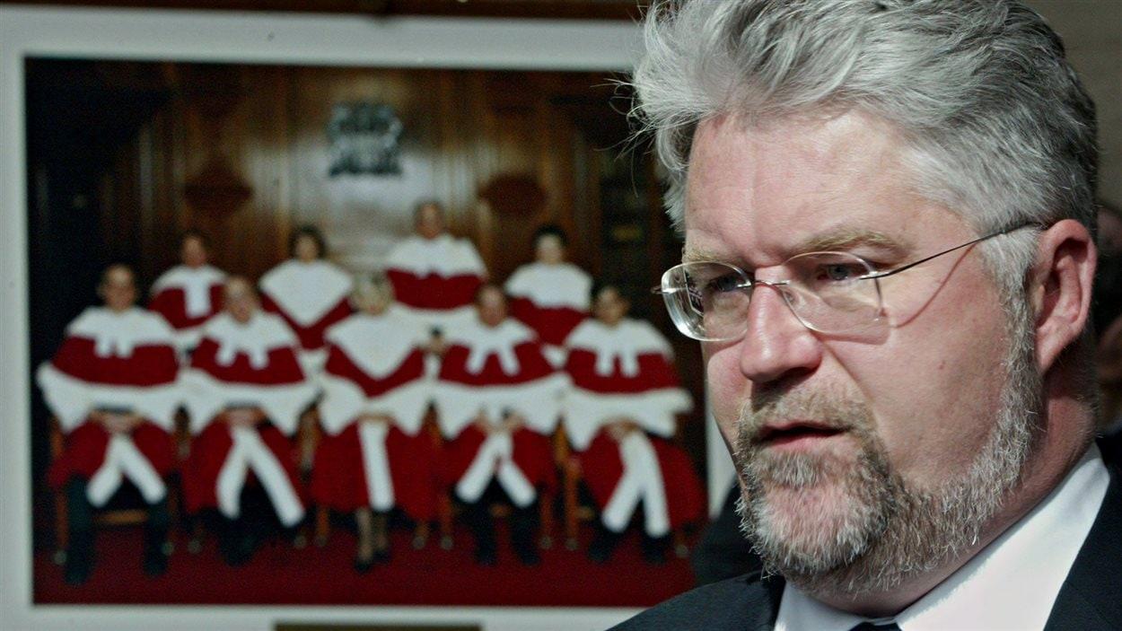L'avocat militant des droits des anglophones au Québec, Brent Tyler (archives)