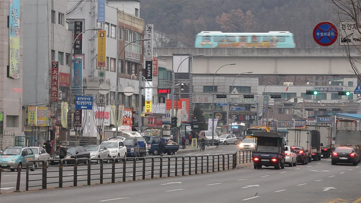 Projet de train de Bombardier en Corée du Sud
