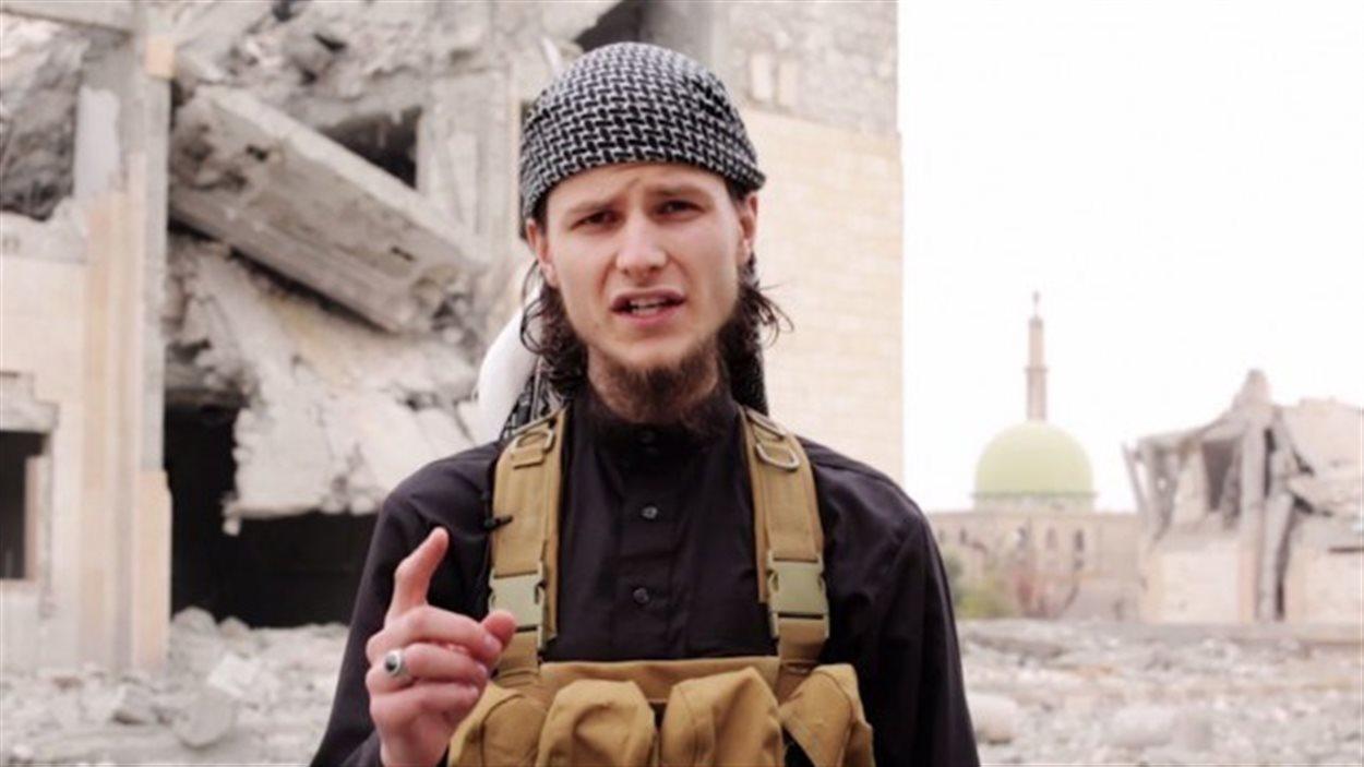 John Maguire, alias Abu Anwar al-Canadi, ancien étudiant de l'Université d'Ottawa, devenu djihadiste au sein du groupe armé État islamiqu