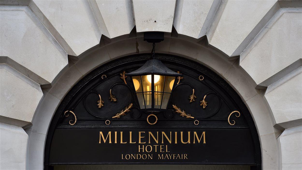 Alexander Litvinenko aurait été empoisonné alors qu'il était allé prendre le thé au Millenium Hotel, à Londres.