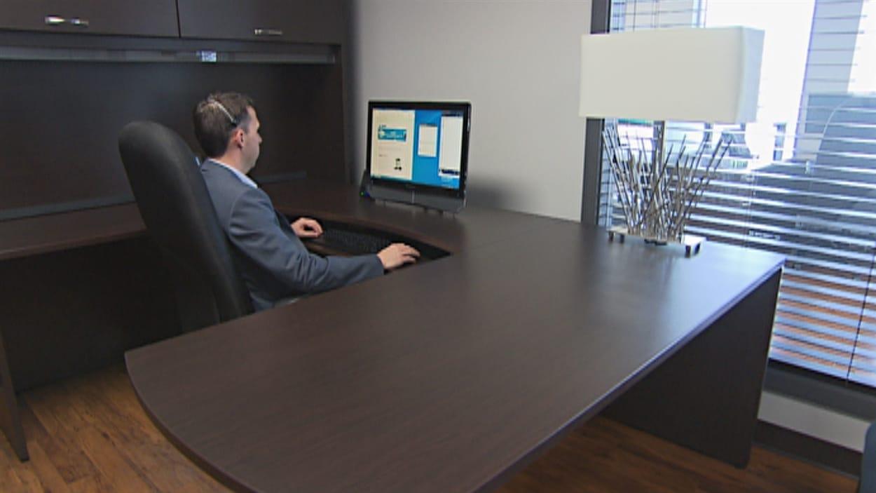 Un bureau de l'entreprise Androïde à Trois-Rivières